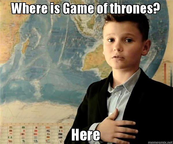 Where is Game of thrones? Here