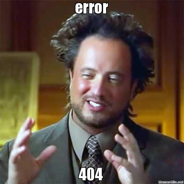 error 404, Мем Пришельцы