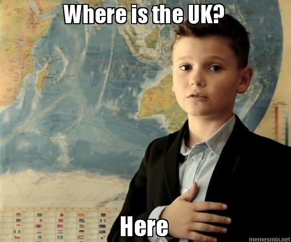 Where is the UK? Here
