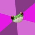 Лягушка задрот холостяк женщина