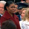 Лицо Мишель Обамы на инаугурации Трампа