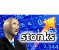 Стонкс бизнесмен