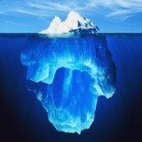 мем Айсберг под водой