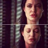 мем Анджелина Джоли плачет