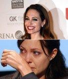 мем Анджелина Джоли смеется и плачет