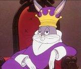 мем Багз Банни в короне