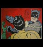 мем Бэтмен бьет пощечину