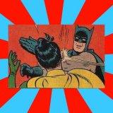 мем Бэтмен бьёт Робина