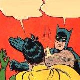 мем Бьющий Бэтмен
