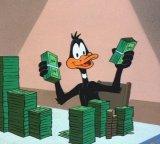 мем Богатая утка - Даффи Дак