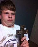 мем Человек с крестом