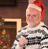 мем Дед Гарольд. Поздравление с Новым годом