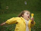 мем Девочка с пузырями