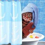 мем Добре утро - Кот в ванной