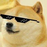 мем Doge ёпта