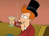 мем Фрай из футурамы курит