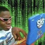 мем Хакер с игрушечным ноутбуком