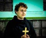 мем Хованский с крестом