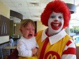 мем Клоун из МакДональдс
