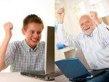 мем Когда с дедом