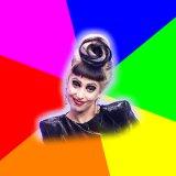 мем Леди Гага тролль