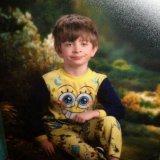 мем Мальчик в пижаме спанч боба