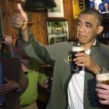 мем Обама и пиво