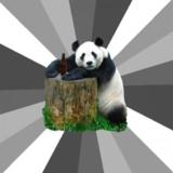 мем Пикап Панда