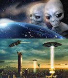 мем Про инопланетян и нло