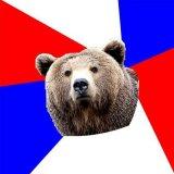 мем Русский медведь