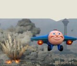 мем Самолет кукуха летит