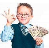 мем Школьник с деньгами