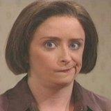 мем Скептическое выражение лица женщины