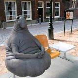 мем Скульптура ждун