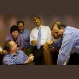 мем Смеющийся Обама