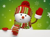 мем Снеговик - с Новым Годом