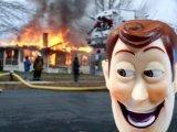 мем Вуди-извращенец поджог дома