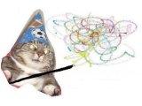 мем Вжух - Кот волшебник