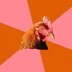 Анти-шутка курицы