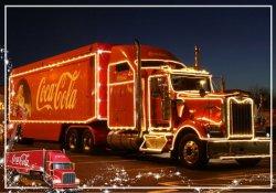 Coca-Cola грузовик