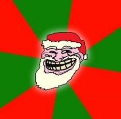 Дед мороз - Троллфейс
