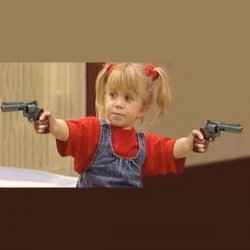 Девочка с двумя пистолетами