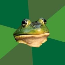 Жаба холостяк задрот