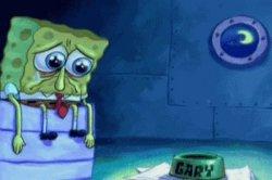 Грусть печаль Спанч Боба