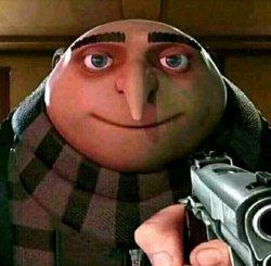 Грю с пистолетом