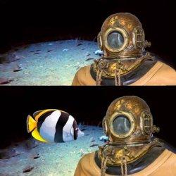 Я на глубине 300 метров