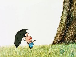 Кажется дождь собирается - Пятачок