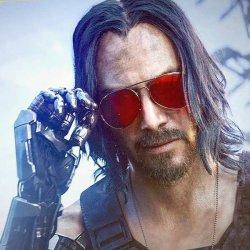 Киану Ривз в Cyberpunk 2077