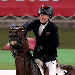 Конь ржет на олимпиаде