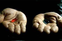 Красная и синяя таблетки